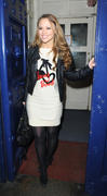 Kimberley Walsh at Drury Lane Theatre in London 3rd March x9
