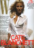 Cate Blanchett on cover of W Magazine Pictures