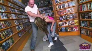 Rape in shop