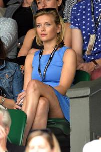 Rachel Riley Leggy @ Wimbledon Championships 06-28-2014