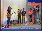 Feist - The Park - Ca donne envie LCI - 6 Mai 2007