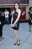 Anne Hathaway leggy arriving at the 2008 MTV Movie Awards Pictures