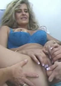 Horny neighbor handjob